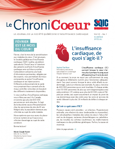 ChroniCoeur Vol12 No1
